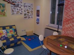 immagine mostra la sala consulenza